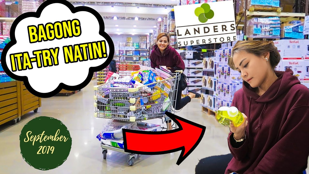 MONTHLY GROCERY SHOPPING AND HAUL SA LANDERS! (VLOG #200)