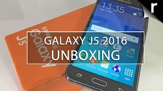 Samsung Galaxy J5: UK unboxing & hands-on review