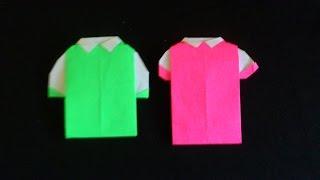 Cara Membuat Origami Kaos | Origami Baju
