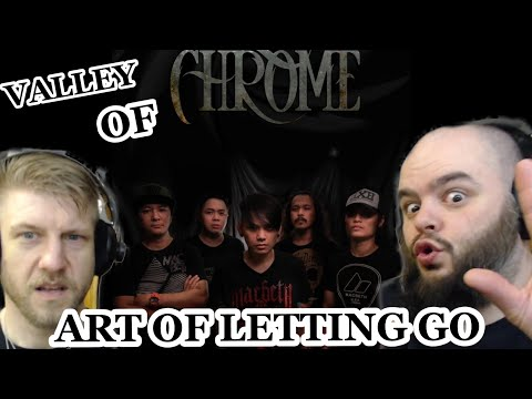GREAT PH METAL BAITED US ! | VALLEY OF CHROME - ART OF LETTING GO | METALHEADS REACTION