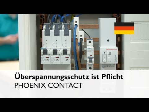 PHOENIX CONTACT at the Light+Building 2018: Obligation for overvoltage protection in buildings