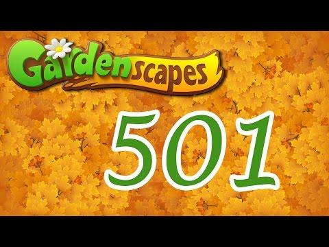Gardenscapes level 501