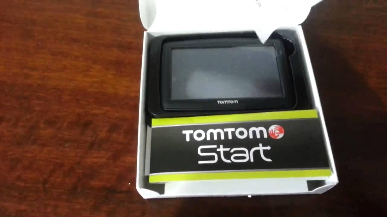 Unboxing do GPS TomTom Start 55 - YouTube