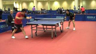 Fang Bo vs Wang Zhen (2011 NA Teams)