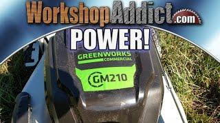 Greenworks Commercial 82V 21