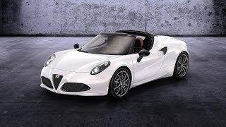 Alfa Romeo 4C Spider Concept 2014 Videos