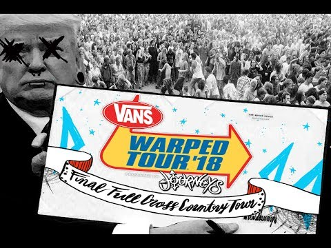 Vans Warped Tour 2018 Lineup Announced