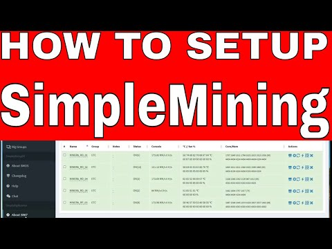 How to SetUp SimpleMining