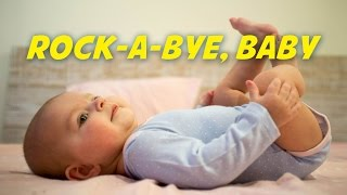 Rock-a-bye Baby | Lullaby (instrumental - lyrics video for karaoke)