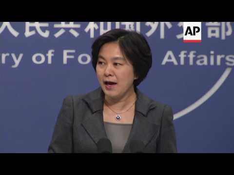 China spokesperson on SChina Sea dispute, NKorea