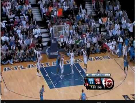 Atlanta Hawks Vs Orlando Magic Game 4 NBA PLAYOFFS 2010 5/10/10