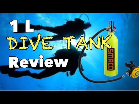 1 Liter Dive Tank Review: SMACO/DEDEPU