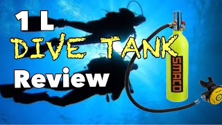 1 Liter Dive Tank Review: SMACO/DEDEPU