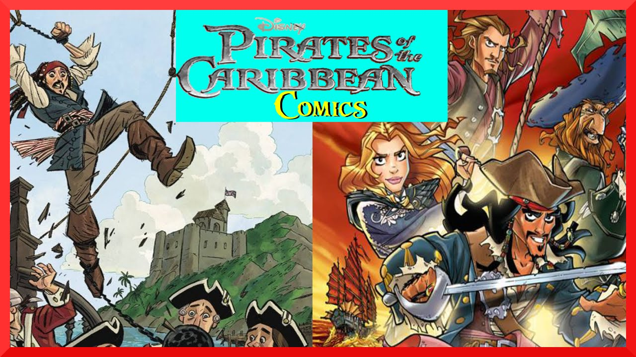 nude pirates of the caribbean comic