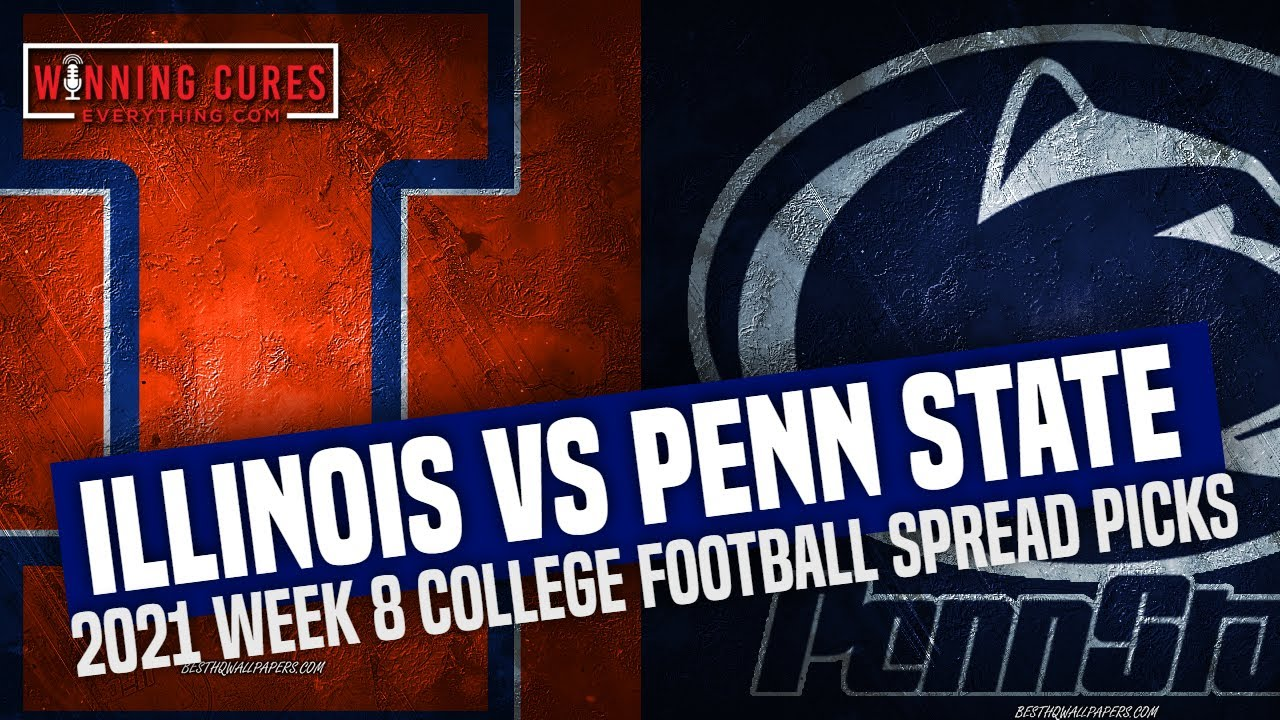 Penn State vs. Illinois odds, line: 2021 college football picks, Week 8 ...