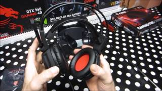 MSI DS 502 Headset TOOOOOP