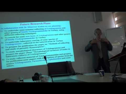 Dr Victor Fursov (pt-3): Trichogrammatidae - Egg-Parasitoids of Pests, Turkiye