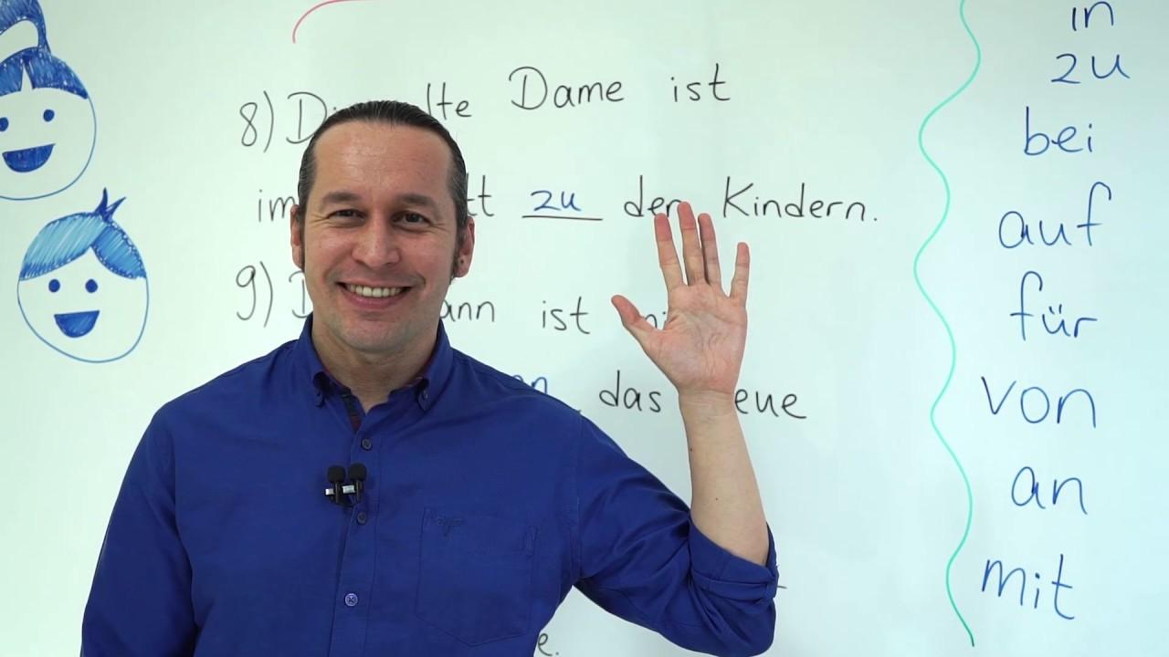 Almanca B2 Orta İleri Seviye Ders - 31 Adjektive mit Präpositionen - Edatlarla Kullanılan Sıfatlar
