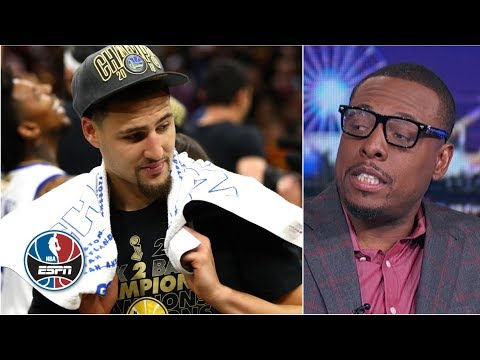 Paul Pierce says he was a better wing shooter than Klay Thompson | NBA Countdown