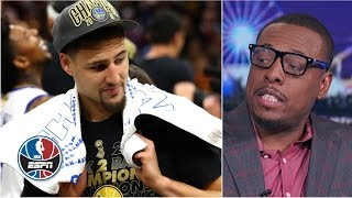 Download Paul Pierce says he was a better wing shooter than Klay Thompson | NBA Countdown Mp3 and Videos