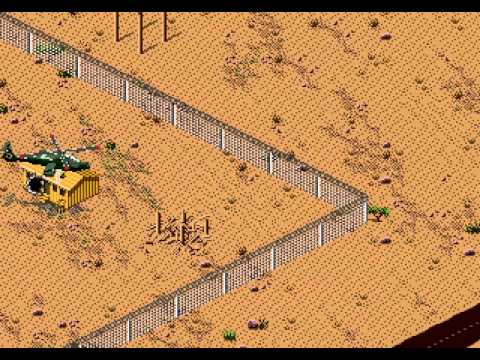 Desert Strike - Return to the Gulf Walkthrough/Gameplay Sega Genesis