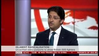 BBC News Channel: Ahmadiyya Muslim Youth respond to Extremism