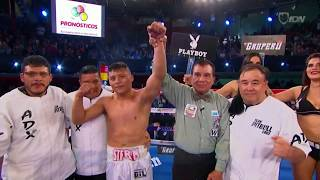Isaac 'Pitbull' Cruz Jr  vs Ángel 'Chaneke' Chan