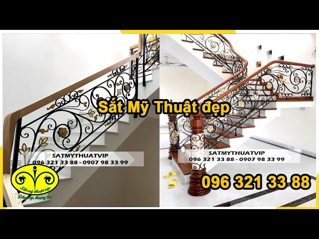 Thi công cầu thang, hàng rào, cửa cổng sắt nghệ thuật