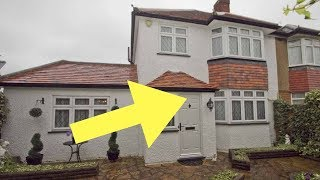 This Family Home Looked Normal On The Outside. But Inside It Was One Color From Floor To Ceiling