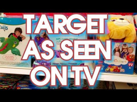 Target As Seen On Tv Aisle Youtube