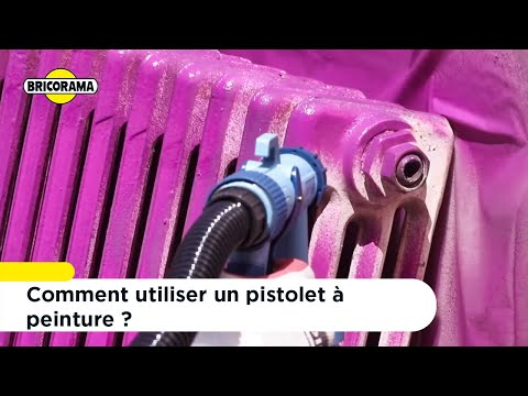 Tuto Utiliser Un Pistolet à Peinture Bricorama Youtube