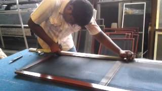 How To Make Mosquito Screen Doors,doors & Windows Manufacturing System- Welltech Systems