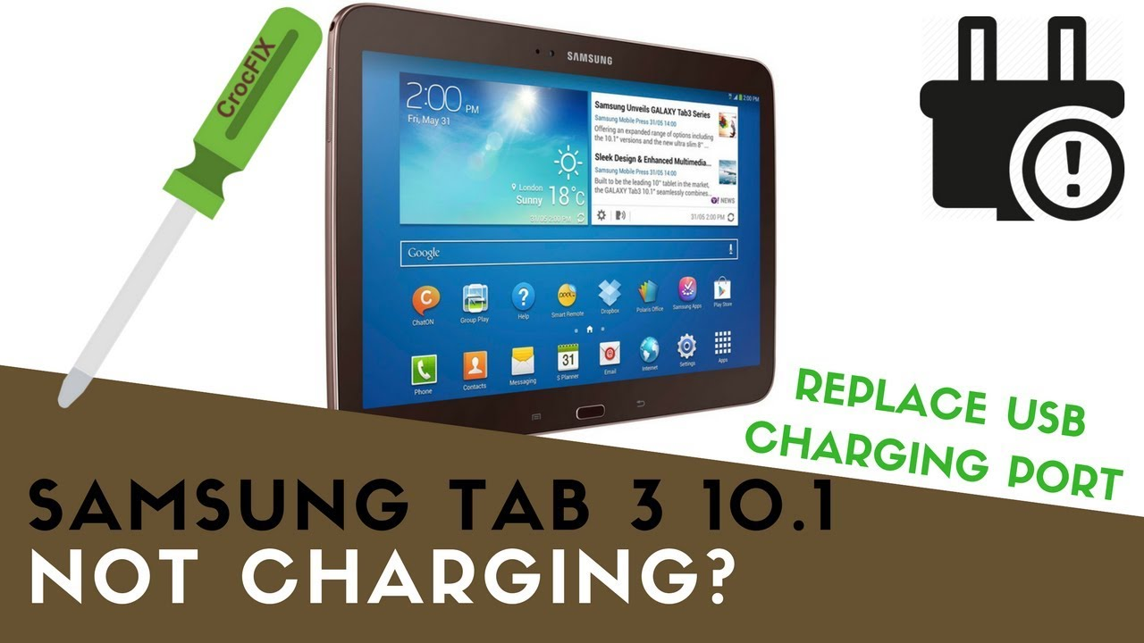 New Samsung Galaxy Tab 3 Tablet GT-P5200 GT-P5210 DC Jack Charging Port REV 1.0