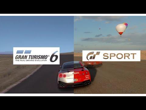 GT SPORT (Beta) v GT6 | Audio Comparison