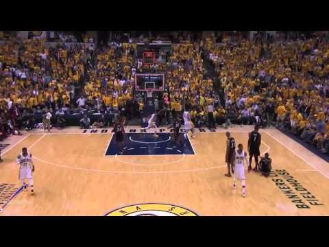 Paul George 37 points vs Heat   Full Highlights 2014 NBA Playoffs ECF GM 5