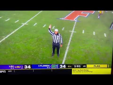 Hilarious-Florida-Penalty-Throwing-Shoe-20-Yards-Down-Field-LSU-Vs-Florida-2020