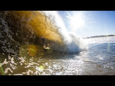 PUMPING NEW JERSEY SURF w KELLY SLATER