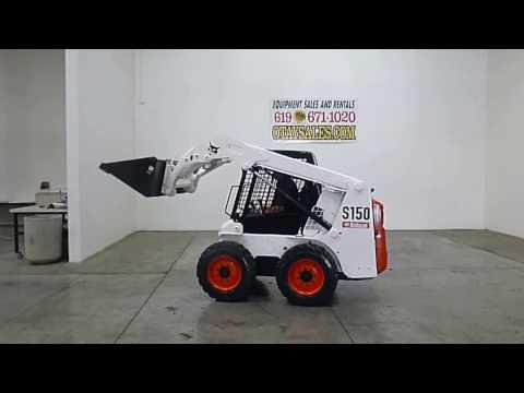 BOBCAT S150 RUBBER TIRE SKID STEER, STOCK #21690, WWW.OTAYSALES