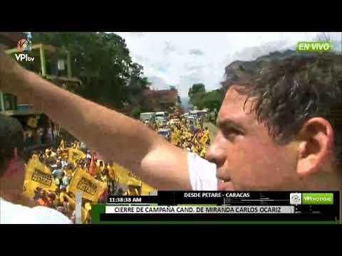Venezuela - Carlos Ocariz cierra su campaña con la caravana por Miranda -VPI