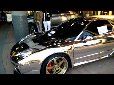 Chrome Honda NSX In Canada