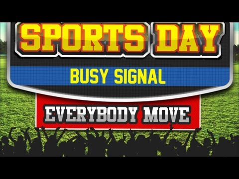 Busy Signal - Sports Day (Everybody Move) August 2014