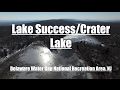 Lake Success/Crater Lake - Delaware Water Gap National Recreation Area - 4K Drone Footage