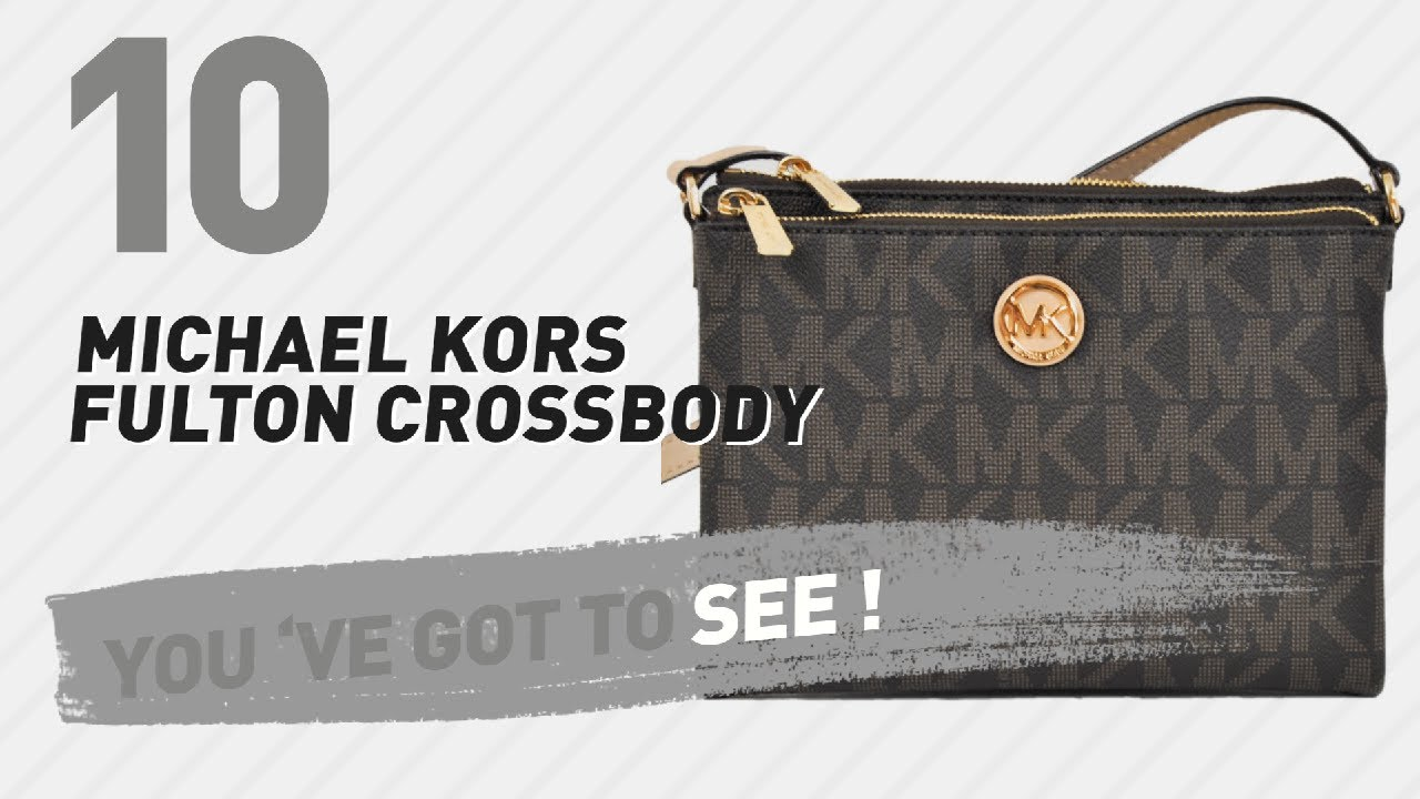 24315dce324d Michael Kors Fulton Crossbody, Best Sellers Collection // Women ...