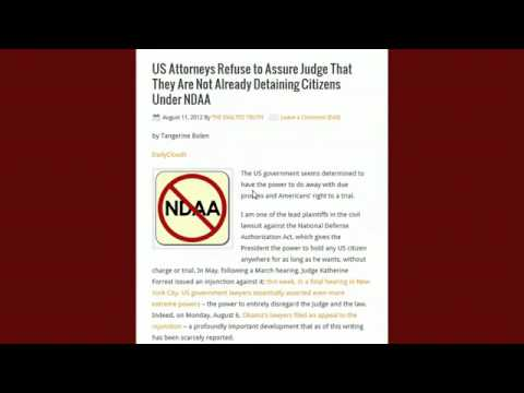 FBI raiding Occupy Activists Homes ∞ NDAA Martial Law Economic Collapse Ron Paul