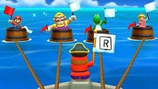 Mario Party The Top 100 Minigames - Mario Wario Yoshi Peach All Minigames