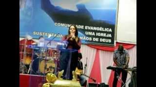 Testemunho da Perlla no Crescendo na Unção - 26/07/2012