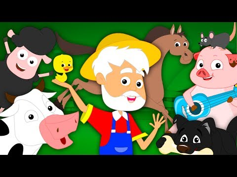 Old MacDonald Had A Farm | Farm Song | Nursery Rhymes Song For Kids | Baby Rhymes
