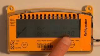 How To Read Fridge-tag2 screen, daily min/max temperatures and track reading activity?