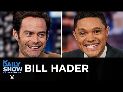 Bill Hader - 'Barry,' 'It Chapter Two' & Opening Up About Anxiety  | The Daily Show