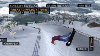 HD PS1 Game quality test - Cool boarders 4 ePSXe emulator